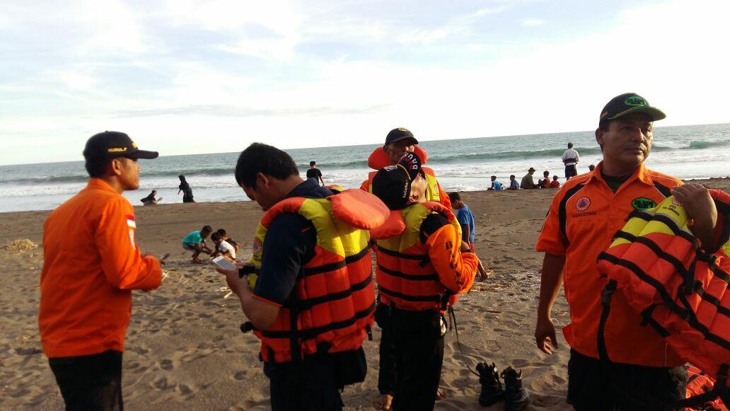 Kejadian Laka Laut di Pantai Silumut Desa Sidoharjo Kecamatan Puring